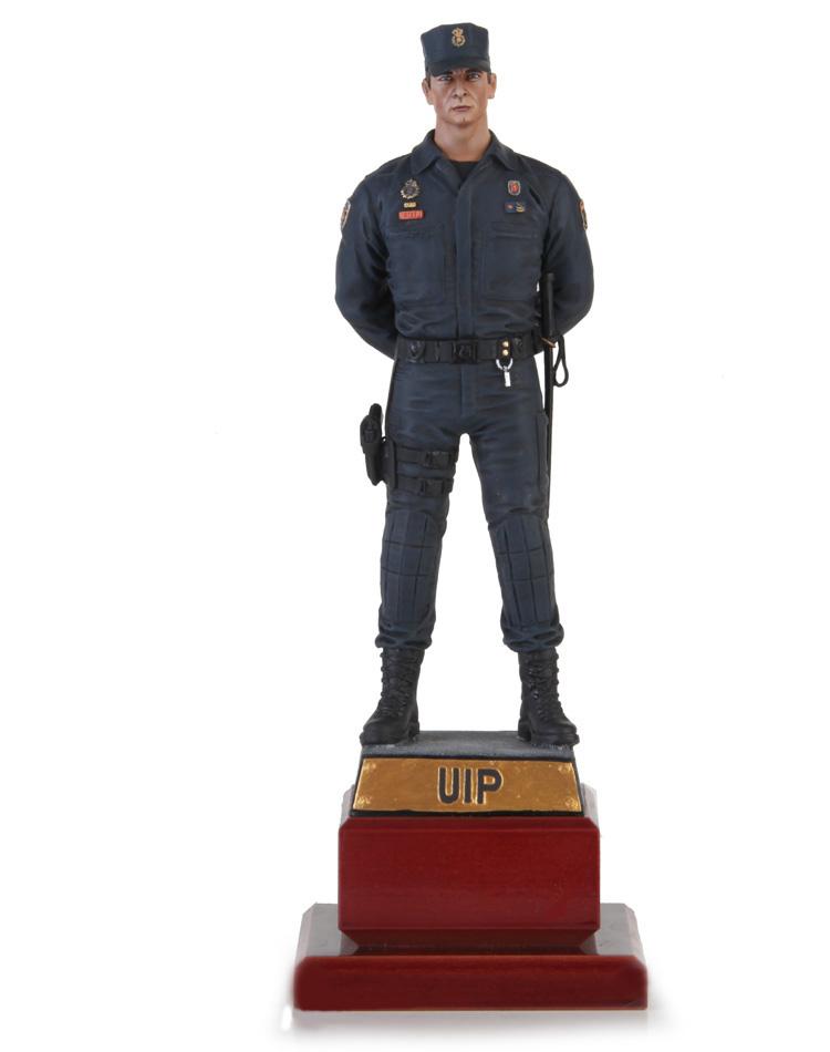 Agente de la unidad de intervención policial UIP