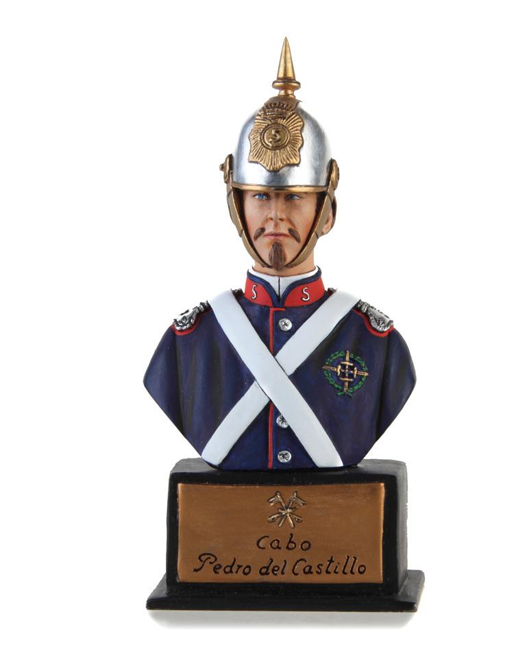 Busto del Cabo Pedro del Castillo