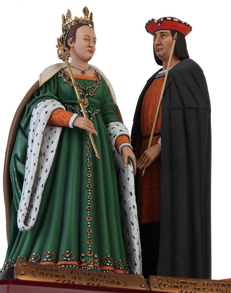 Doña Petrolina y Don Ramón Berenguer