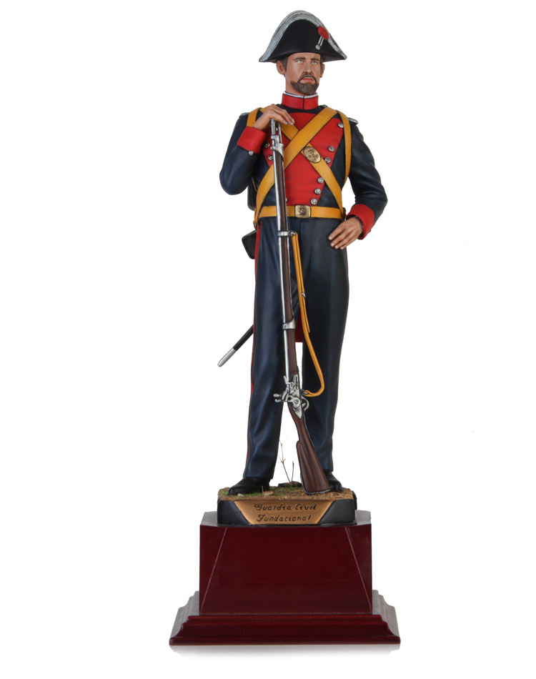Civil Guard foundational time 1844. Size 24 cm
