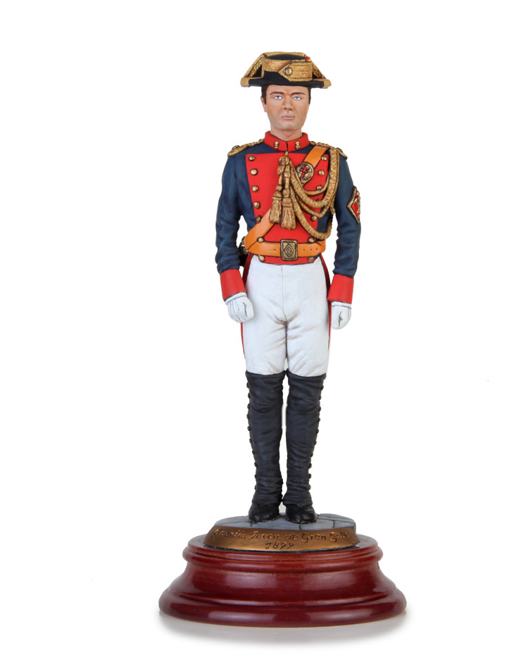 Young Guard in high uniform 1899, Size 14 cm.