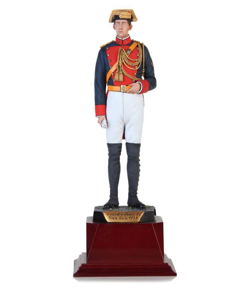Young Guard in high uniform 1899, Size  22 cm
