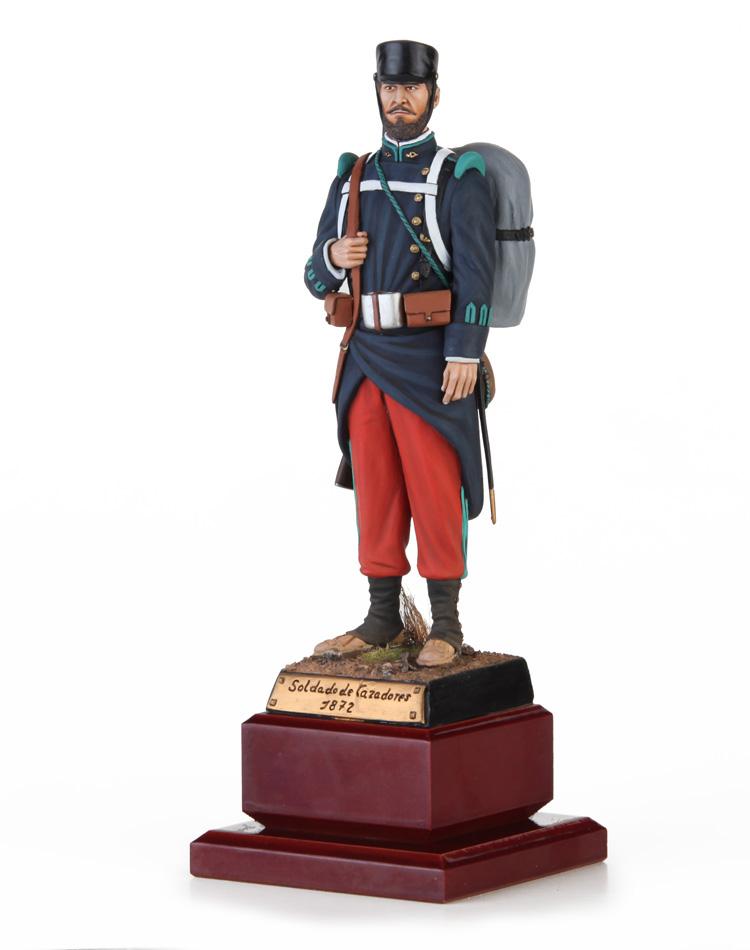 - Soldado de Cazadores 1872