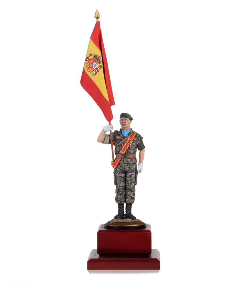 Sargento Portaguión Brigada Aragón