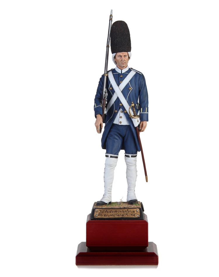 Soldado de Infantería Rgto Voluntario de Palma 1808