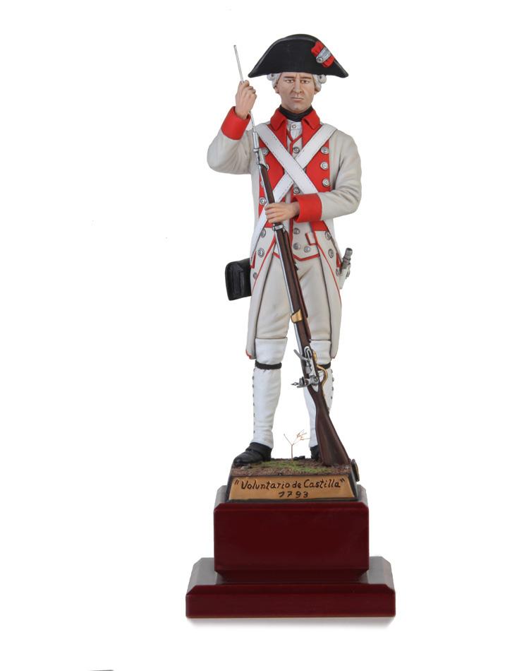 Soldado Rgto. Voluntarios de Castilla 1793