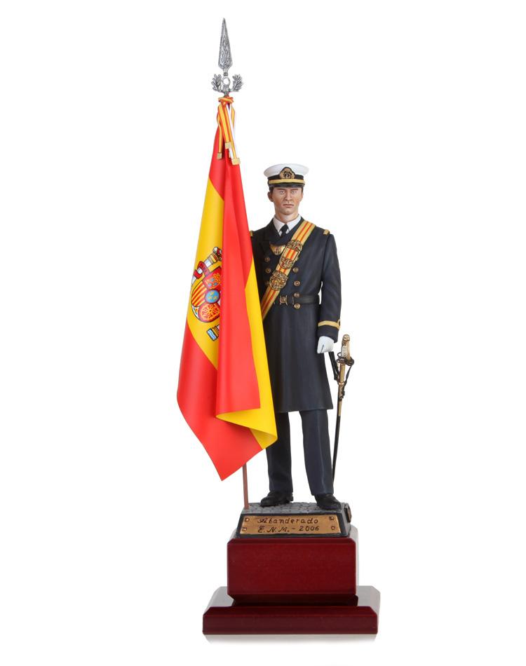Abanderado Escuela Naval Militar
