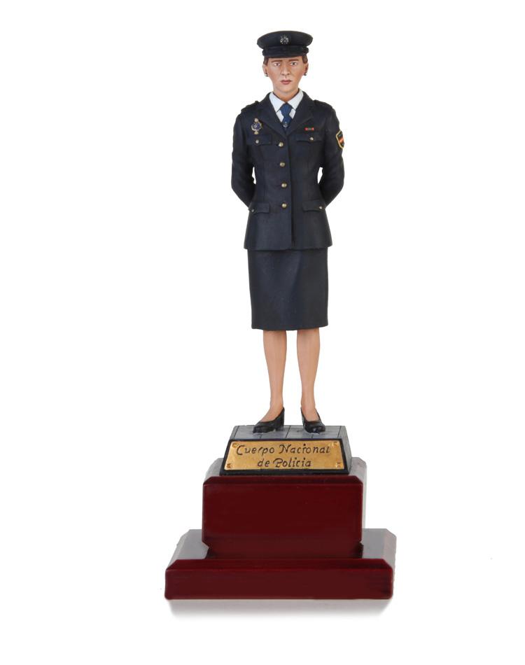 Agente Femenino CNP 13 cm