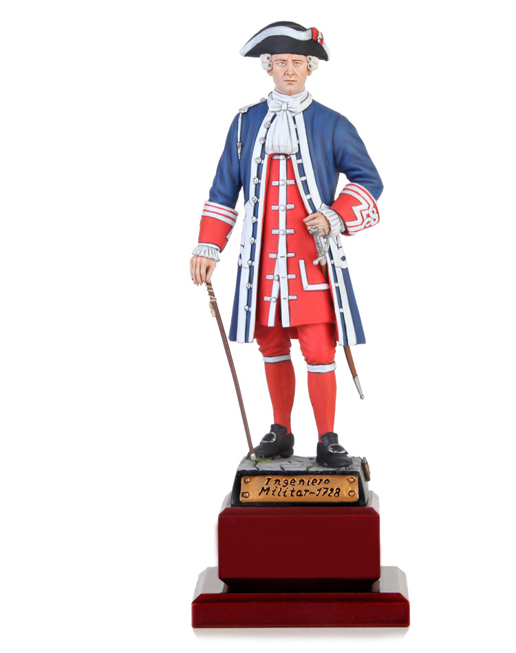 Coronel Ingeniero Militar 1728