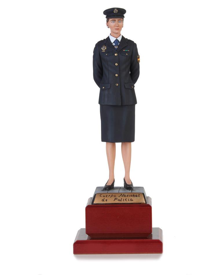 Cuerpo Nacional de Policía Agente Femenino 22cm